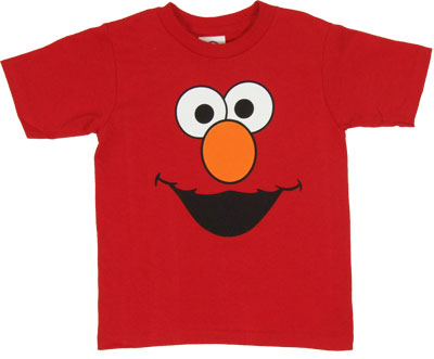 Elmo Face - Sesame Street Toddler Shirt