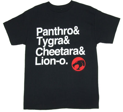 Roll Call - Thundercats T-shirt