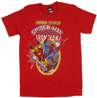 Marvel Team-Up #9 - Marvel Comics Sheer T-shirt