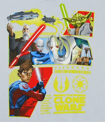 The Republic's Revenge - Star Wars Clone Wars Juvenile T-shirt