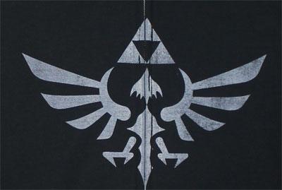 Winged Triforce - Legend Of Zelda - Nintendo Zip Hooded Sweatshirt