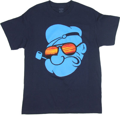 Popeye With Shades - Popeye T-shirt