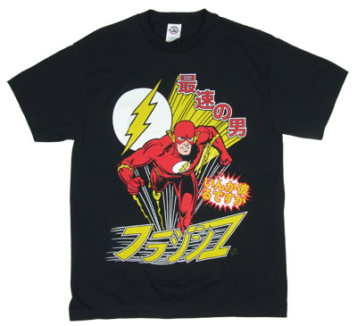 J-Pop Flash - DC Comics T-shirt
