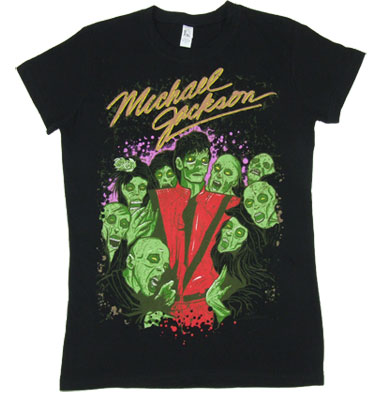Zombie Crew - Michael Jackson Sheer Women&#039;s T-shirt