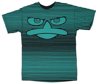 Striped Perry - Phineas And Ferb T-shirt