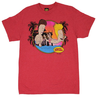 Belly Flop - Beavis And Butthead T-shirt
