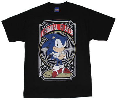 Original Player - Sonic The Hedgehog T-shirt