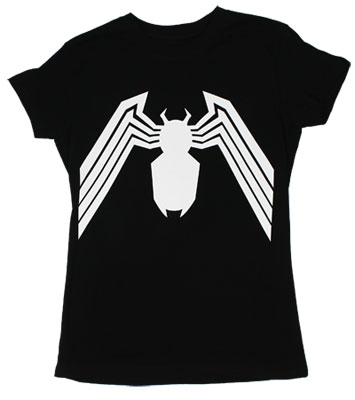 Venom Logo - Marvel Comics Sheer Womens T-shirt