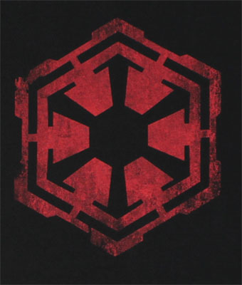 Empire Logo - Star Wars The Old Republic T-shirt