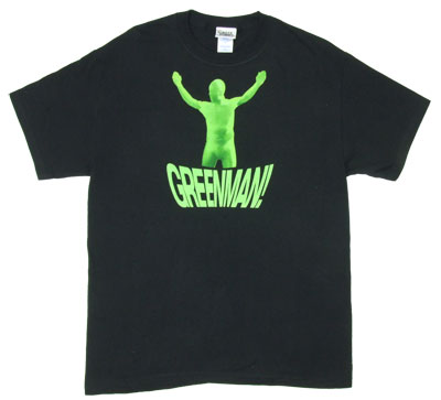 Greenman With Face - It's Always Sunny In Philadelphia T-shirt
