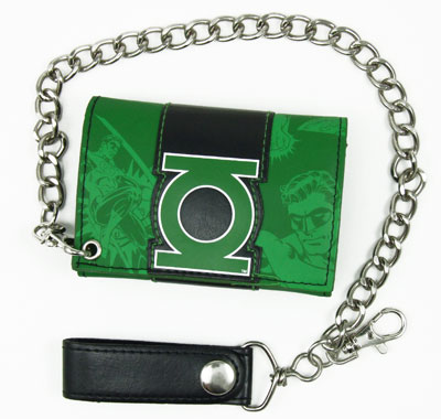 Green Lantern DC Comics Chain Wallet