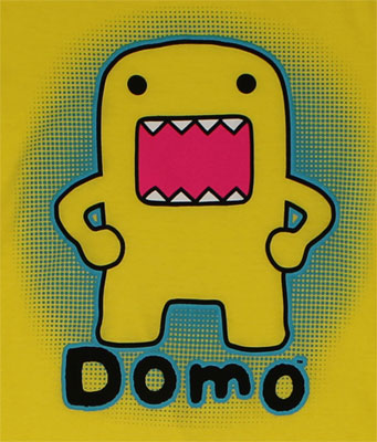 Domo Glow - Domo-Kun Sheer Women's T-shirt