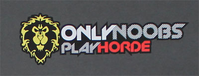Only Noobs Play Horde - World Of Warcraft T-shirt