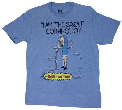 The Great Cornholio - Beavis And Butthead T-shirt