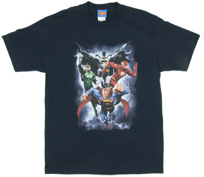 The Coming Storm - Justice League - DC Comics T-shirt