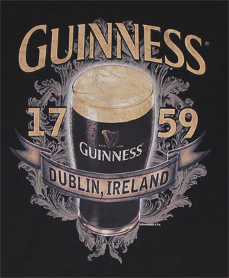Tall Glass - Guinness T-shirt