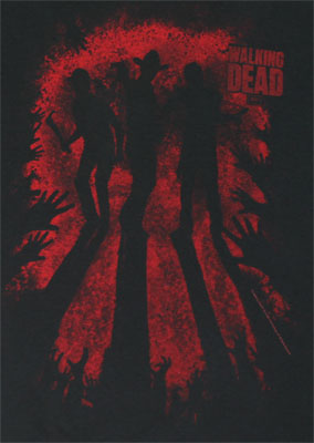 3 Heroes - Walking Dead T-shirt