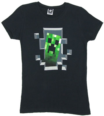 Creeper Inside - Minecraft Sheer Women&#039;s T-shirt