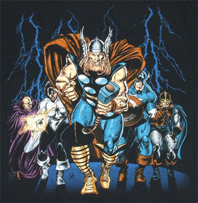 Great Crowd - Marvel Comics T-shirt