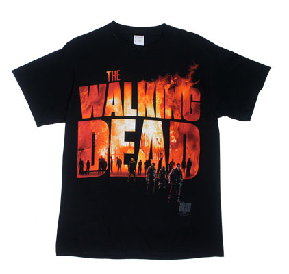 Two Fire Logo - Walking Dead T-shirt
