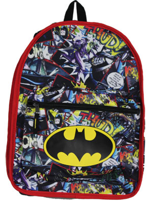 Batman Logo - DC Comics Reversible Backpack
