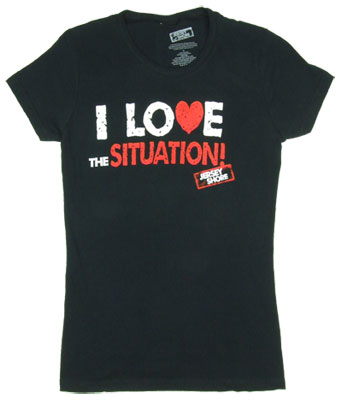 I Love The Situation - Jersey Shore Sheer Women's T-shirt