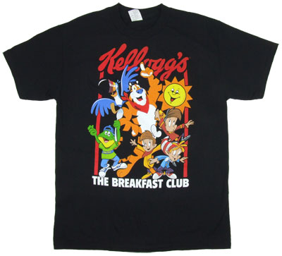 The Breakfast Club - Kellogg's T-shirt