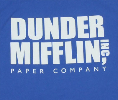 Dunder Mifflin Paper Company - The Office Sheer T-shirt