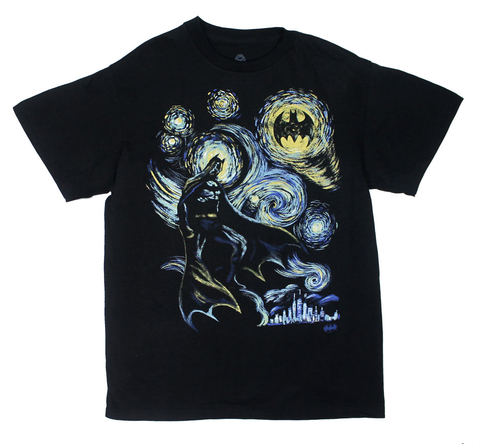 Starry Batnight - DC Comics T-shirt