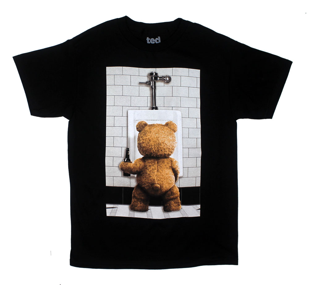 Ted At Urinal - Ted T-shirt