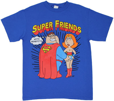 Super Friends With Benefits - Family Guy T-shirt