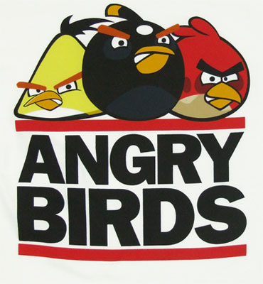 Run Birds - Angry Birds Youth T-shirt