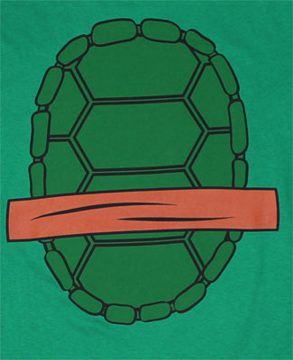 Michaelangelo Costume - Teenage Mutant Ninja Turtles T-shirt