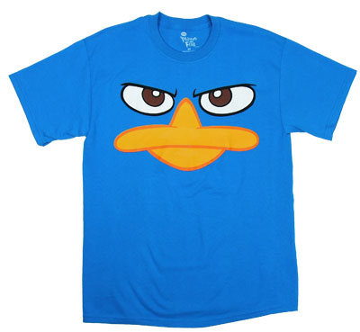 Perry Face - Phineas And Ferb T-shirt