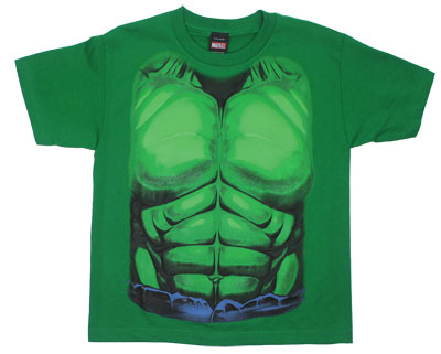 Incredible Hulk Costume - Marvel Comics Youth T-shirt