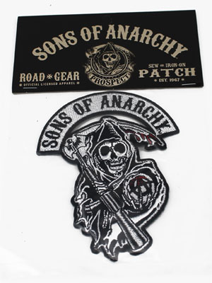 Bloody Reaper - Sons Of Anarchy Patch