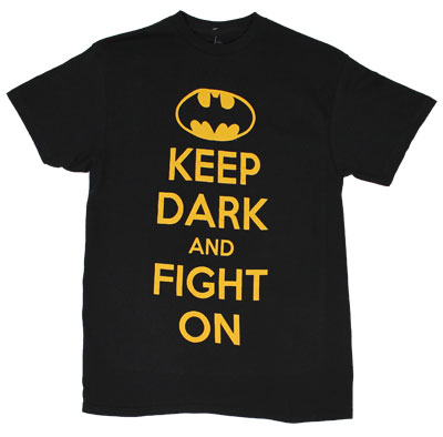 Keep Dark And Fight On - DC Comics T-shirt