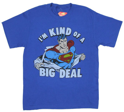 I&#039;m Kind Of A Big Deal - DC Comics T-shirt