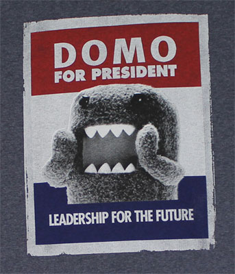Domo For President - Domo-Kun T-shirt