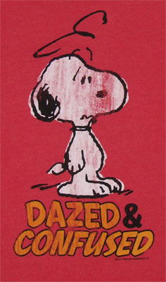 Dazed & Confused - Snoopy - Peanuts Sheer T-shirt