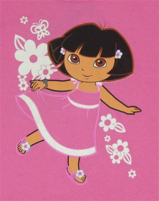 Dora In A Dress - Dora The Explorer Youth T-shirt