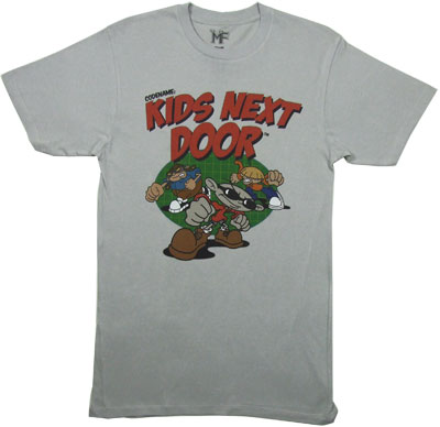 Group - Codename: Kids Next Door T-shirt