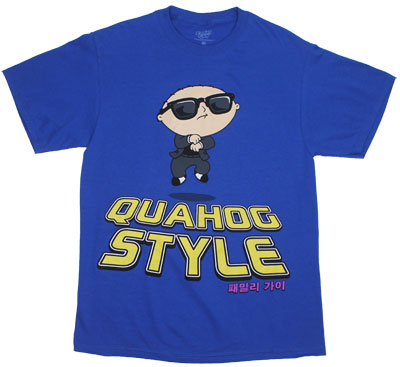 Quahog Style - Family Guy T-shirt