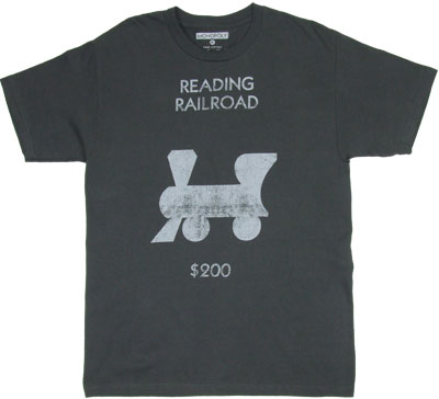 Reading Railroad - Monopoly T-shirt