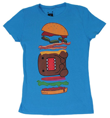 Domo Burger - Domo-Kun Sheer Women&#039;s T-shirt