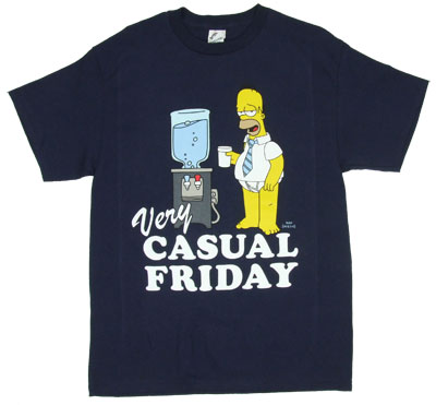 Very Casual Friday - Homer - Simpsons T-shirt