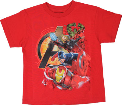 Assemble Heroes - Mavrel Comics Juvenile T-shirt