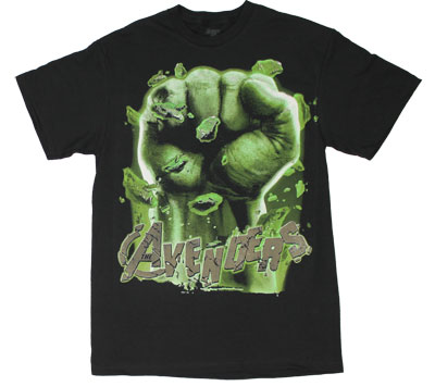 Hulk Fist - Avengers T-shirt
