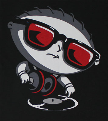 Stewie Spinning - Family Guy T-shirt