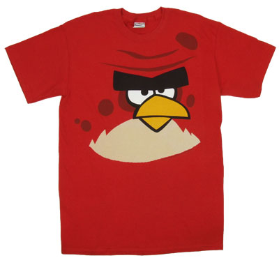 Red Bird - Angry Birds T-shirt